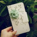 MrH(ミスターエイチ)スマホウォレットケース/花の香りByiphone8