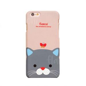 MrH(ミスターエイチ)スマホスキニーケース/エモーショナルアニマル・キャット By iphone8plus