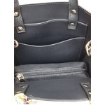 リボンスカーフ&ポーチ付!縦長タイプのハンドバッグ/タフ