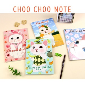 JETOY(ジェトイ) Choochoo ノート2 (イチゴ)2冊セット