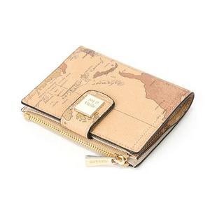 PRIMA CLASSE(プリマクラッセ) PSW8-2133 収納出来る二つ折り財布/ブラウン