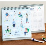 7321Design(7321デザイン) ザデイリーストーリー 2019年卓上カレンダー
