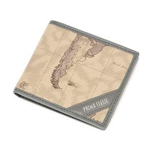PRIMA CLASSE(プリマクラッセ) P-3004-1 ユニセックス二つ折り財布 (グレイ)