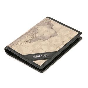 PRIMA CLASSE(プリマクラッセ) P-3004-2 ユニセックス二つ折りカードケース (ブラック)