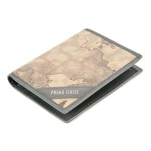 PRIMA CLASSE(プリマクラッセ) P-3004-2 ユニセックス二つ折りカードケース (グレイ)