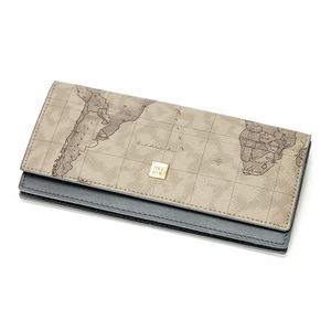 PRIMA CLASSE(プリマクラッセ)P-7506 スリムタイプ長財布 (グレイ)