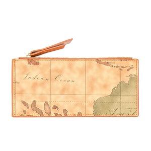 PRIMA CLASSE(プリマクラッセ)PSW7-3201 薄型ファスナーポーチ財布 (ブラウン)