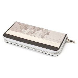 PRIMA CLASSE(プリマクラッセ)PSW8-2130 ラウンドジップ長財布 (ミントグレイ)