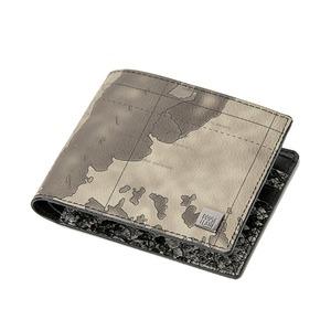 PRIMA CLASSE(プリマクラッセ)PSW8-2135 スネーク仕様二つ折り財布 (グレイ)