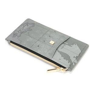 PRIMA CLASSE(プリマクラッセ)PSW8-2137 パスポートが入るサイズ薄型ファスナー長財布 (オーシャン)