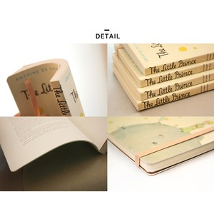 7321Design(7321デザイン)星の王子様1943オリジナル ソフトカバーノート (無地ノート)