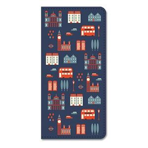 7321Design(7321デザイン)ビンテージガロ財布仕様のロングパスポートケース (ロンドン)