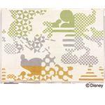 スミノエ DISNEY DRM-1011ラグ MICKEY/Kika silhouette RUG 100×140cm グリーン