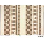 スミノエ DISNEY DRM-1012ラグ MICKEY/Texture line RUG 140×200cm アイボリー