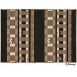スミノエ DISNEY DRM-1012ラグ MICKEY/Texture line RUG 140×200cm ブラック