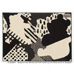 スミノエ DISNEY DRP-1042ラグ POOH/Collage RUG 95×130cm ブラック