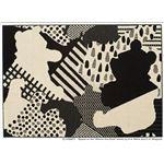 スミノエ DISNEY DRP-1042ラグ POOH/Collage RUG 130×190cm ブラック