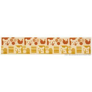 スミノエ DISNEY DMP-5006キッチンマット POOH/Hide-and-seek KITCHEN MAT 45×240cm オレンジ
