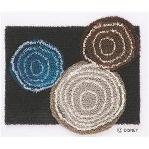 スミノエ DISNEY DMM-4025マット MICKEY/Ring MAT 60×70cm チャコール