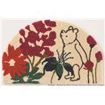 スミノエ DISNEY DMP-4036マット POOH/Bloom MAT 50×80cm ピンク