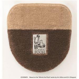 スミノエ DISNEY DTP-5003トイレフタ POOH/Secret FUTA COVER 48×49cm ブラウン