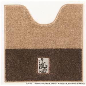 スミノエ DISNEY DTP-5003トイレマット POOH/Secret TOILET MAT 60×60cm ブラウン