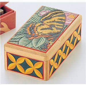 木彫印かん小箱(印泥付)