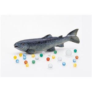 ウッドカービングC 魚(しな)