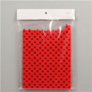 Artecブロック 基本四角 100P 赤