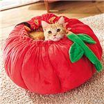 野菜や果物のキャットソファ(ペット用ソファ)(猫用・キャット用)(ペット用品・ペットグッズ) 【トマト】