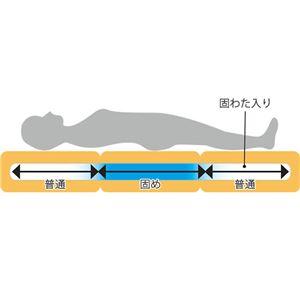 腰にやさしい 敷布団/寝具 【シングル 3色組】 日本製 防ダニ 抗菌 防臭 バランス仕様 〔ベッドルーム 寝室〕