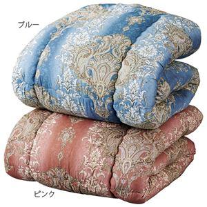 寒い暑いをちょうどよく温感調節掛布団 ダブルピンク