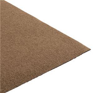 吸着床ピタはっ水キッチンマット 約60×180cm ブラウン