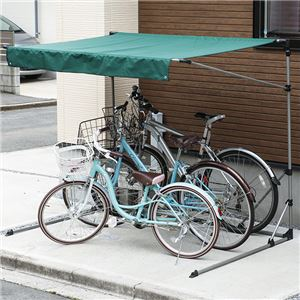 サイクルガレージ 3台用