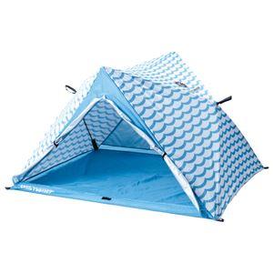 パッとサッとできるテント ブルーウェーブ