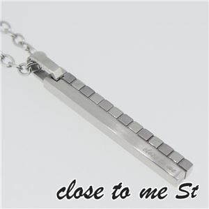 SN11-011 close to me St(クロス・トゥ・ミー) ステンレスネックレス メンズ