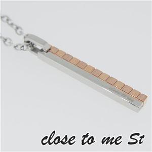 SN11-012 close to me St(クロス・トゥ・ミー) ステンレスネックレス レディース