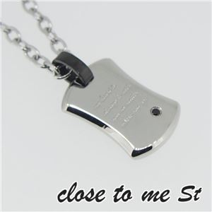 SN11-019 close to me St(クロス・トゥ・ミー) ステンレスネックレス メンズ