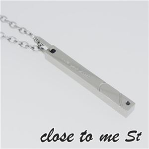SN11-031 close to me St(クロス・トゥ・ミー) ステンレスネックレス メンズ