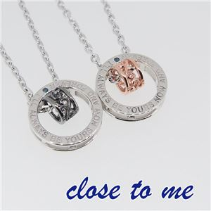 SN13-041042 close to me(クロス・トゥ・ミー) ペアネックレス ペア
