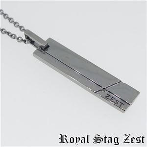 sn25-003 Royal Stag ZEST(ロイヤル・スタッグ・ゼスト) シルバーネックレス メンズ