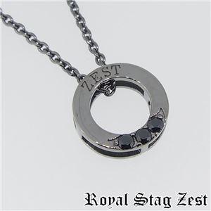 sn25-008 Royal Stag ZEST(ロイヤル・スタッグ・ゼスト) シルバーネックレス メンズ