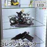 【LEDライト単品】コレクションラック【-Luke-ルーク】ハイタイプ専用LED ホワイト