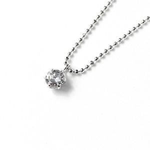 プラチナ 0.25ct ダイヤモンド ペンダント ネックレス