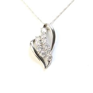純プラチナ 1ct ダイヤモンド ネックレス ペンダント