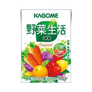 【まとめ買い】カゴメ 野菜生活100オリジナル 箱売 紙パック 1箱(100ml×36本)