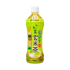 伊藤園 お〜いお茶 玄米茶 箱売 1箱(500ml×24本)
