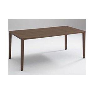岡村製作所 木製ランチテーブル 幅180cm ディープ 9375TA MW80 1台