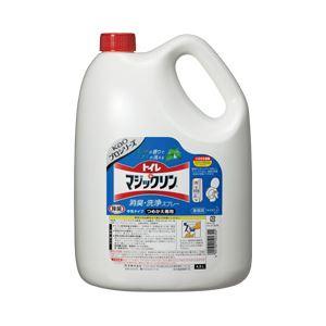 【業務用パック】花王 トイレマジックリン ミントの香り 業務用 1箱(4.5Lx4本)