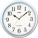 CASIO(カシオ) 壁掛け電波掛時計 シルバー&ブルー IQ-76-8JF IQ-480J-8JF